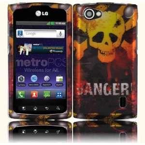 Danger Design Hard Case Cover for LG Optimus M+ MS695