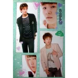 Shinee K Pop Korean Boy Band Dancer Wall Decoration Poster