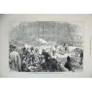 1876 Circus Prince Wales King Greece Crystal Palace Home