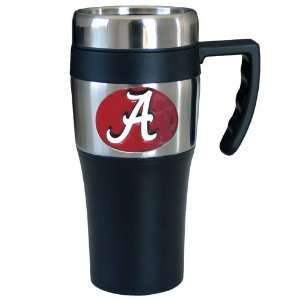 NCAA Alabama Crimson Tide Logo Travel Mug: Sports & Outdoors
