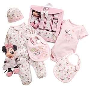 Disney Minnie Mouse Welcome Set for Infants 6 Pc. (Size 3