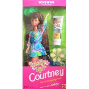 Barbie Totally Hair COURTNEY Doll, Best Friend of Skipper Doll   Toys
