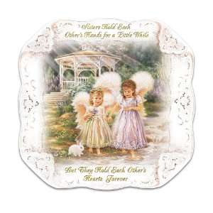 Dona Gelsinger Sisters Love Forever Collector Plate by The