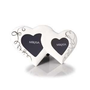 Mikasa Love Story Double Heart Frame