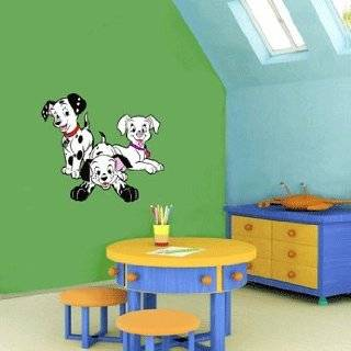 101 DALMATIAN WALL MURAL STICKER BABY ROOM NURSERY D11: