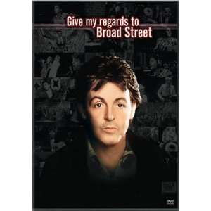 Give My Regards To Broad Street Paul McCartney, Bryan