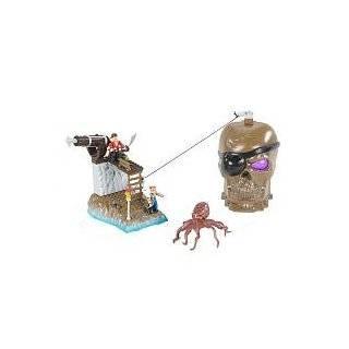 Mega Bloks Pyrates Skull Cave 95511 Maroon Gally  Toys & Games