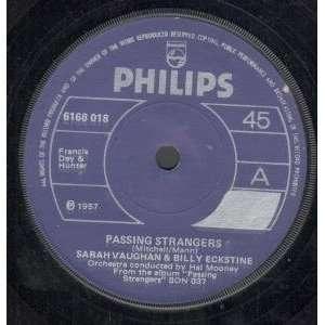 PASSING STRANGERS 7 INCH (7 VINYL 45) IRISH PHILIPS 1957