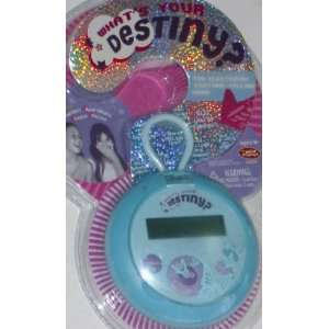 Your Destiny Electronic Fortune Telling Game Turqoise: Toys & Games