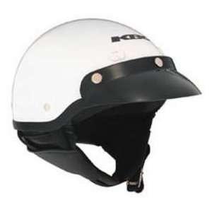 KBC TK 410 WHITE SM MOTORCYCLE Open Face Helmet Automotive