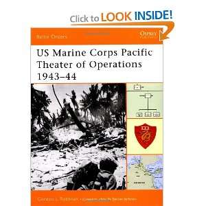 US Marine Corps Pacific Theater of Operations 1943 44 (Battle Orders