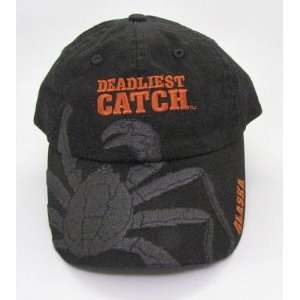Crab Alaskan Deadliest Catch Crabs Ball Cap Hat No Sleep for the Weak