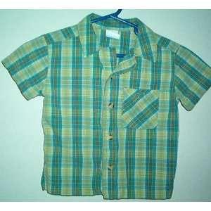 Green Plaid Toddler Boys Shirt Size 2 Toddler Everything
