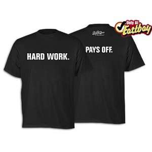 Eastbay Hard Work Pays Off Tee   Mens Sports & Outdoors