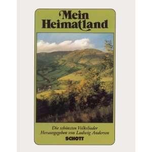 Mein Heimatland Guitar (9790001057394) Ludwig Andersen