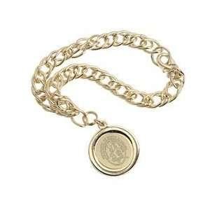 South Carolina   Charm Bracelet   Gold