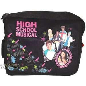 High School Musical Black/pink Messenger Bag