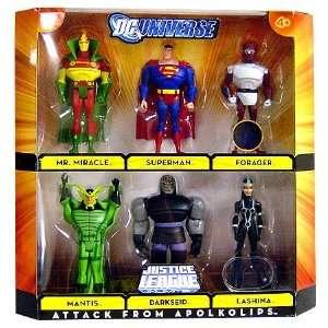 DC Universe Justice League Unlimited Exclusive Action Figure 6Pack