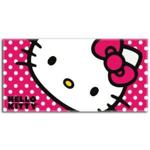 Sanrio Hello Kitty Polka Dot Beach Towel : Toys & Games :