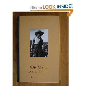Of Mice and Men: John Steinbeck, Fletcher Martin: Books