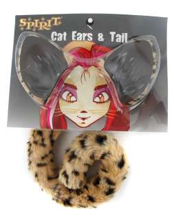 Cheetah Ears and Tail Set in Costumes Shop by Theme Animal
