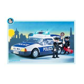 Playmobil   Police Car 3904