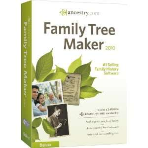 Family Tree Maker 2010 Deluxe [OLD VERSION] Software