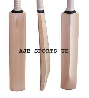 Custom Hand Made English Willow Cricket Bat + Extras