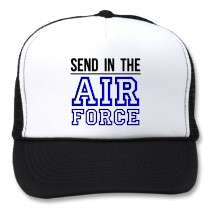 Send In The Air Force Hat by 4sillygoose