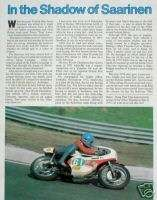TEPI LANSIVUORI MOTORCYCLE Racing Article/Photo/Picture