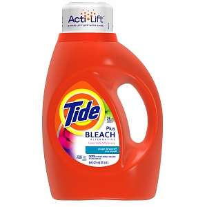 Buy Tide Liquid Detergent plus Bleach Alternative, 26 Loads, Clean