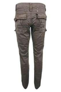 Mos Mosh Soft brown Cheryl Cargo bukser