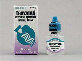 Picture TRAVATAN 0.004% OPHTH SOLN 2.5ML  Drug Information