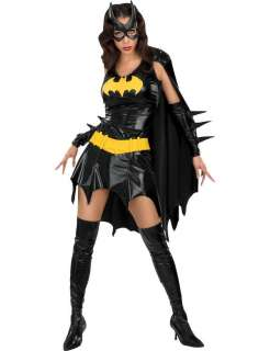 Batgirl Sexy Super Hero Costume  Jokers Masquerade