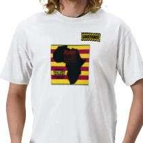 Shirt Black Randy Idi Amin Dangerhouse WHITE by empireoftheimage