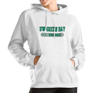 Under Armour Wisconsin Green Bay Womens Performance Hoodie   ESPN