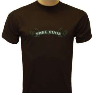Free Hugs! Hands That Reach Out, Funny Mens T shirt