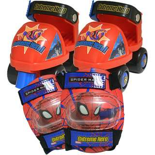 Street Flyers Spider Man Adjustable Toy Skate Combo
