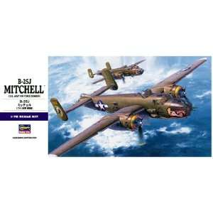 Hasegawa 172 Scale B 25J Mitchell Model Airplane Kit Everything Else