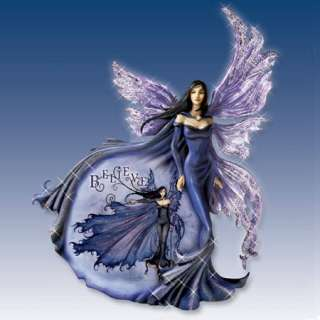 Believe Amy Brown Fairy LE Art Wall Sculpture