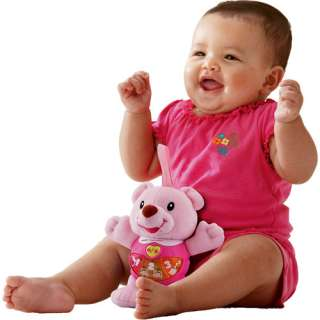 Vtech Happy Lights Bear Learning Toy, Pink Baby & Toddler Toys