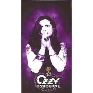 Ozzy Osbourne Black Rain Bath or Beach Towel New Gift