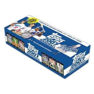 2007 Factory Trading Card Set   Los Angeles Dodgers Games & Puzzles