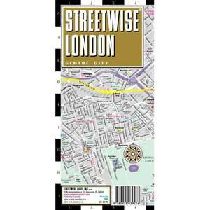 Streetwise London Map   Laminated City Street Map of London, England