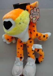 CHESTER CHEETAH Plush CHEETOS CAT Mascot 17 hang tag Promo 2001 Play