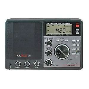 CCRadio AM/FM/Shortwave Portable Radio Electronics