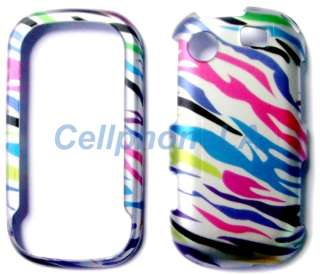 Samsung Messenger Touch R630 Colored Zebra Case Cover