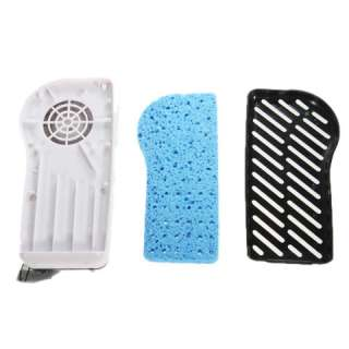 Portable Cute Hand Held Air Condition Fan Cool (Black)