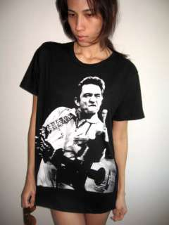Johnny Cash Finger Country Rock Blues Legend T Shirt L