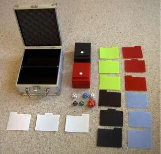 Metal trading card storage